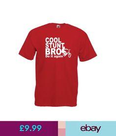 T-Shirts Cool Stunt Bro Bmx Bike Tee Xmas Birthday Gift Idea Mens Womens Adult Tshirt Top #ebay #Fashion