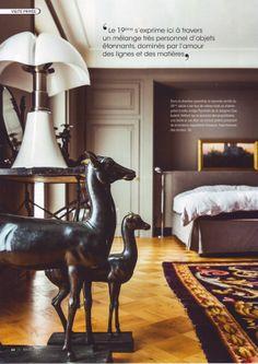 "Pipistrello lamp seen on ""Deco Idees"" _ belgian magazine"