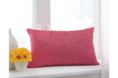 Pink Arabelle Pillow by Ashley Furniture