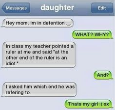 This seems like something me or one of my friends would do.