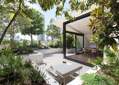 rooftop garden terrace | CO-AP creates rooftop oasis for a Sydney penthouse