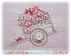 The Latest Trend in Embroidery – Embroidery on Paper - Embroidery Patterns Embroidery Scissors, Folk Embroidery, Paper Embroidery, Learn Embroidery, Hand Embroidery Stitches, Embroidery Techniques, Cross Stitch Embroidery, Embroidery Patterns, Doily Patterns