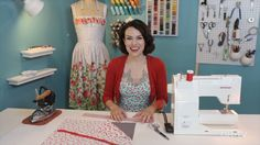 Learn how to sew a lovely fabric tool roll for all your supplies