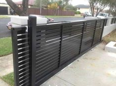 Image result for aluminium sliding gates nz