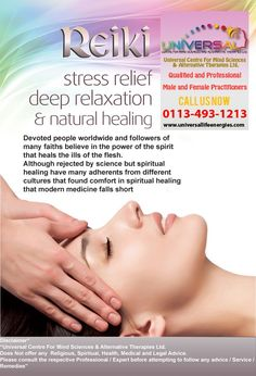 Home - Universal Life Energies Deep Relaxation, Alternative Therapies, Chakra Balancing, Palmistry, Hypnotherapy, Reflexology, Natural Healing, Stress Relief, Reiki
