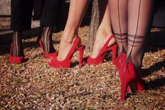 love this Halloween photoshoot. 90% Louboutin 100% Cervin