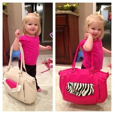 So cute! We see a fashionista in the making! Thanks, @Lauren Warren Brown, for sharing via Instagram.