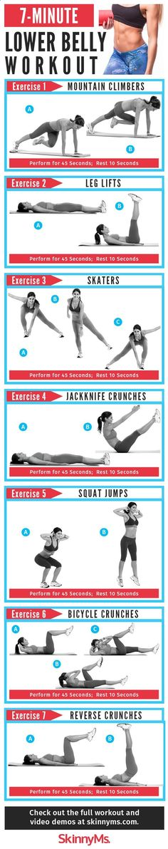 Sculpt your core with this Flat Belly Workout in time for swimsuit season! #Summer #abworkout #workout...