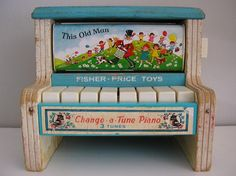 piano #fisher_price #vintage
