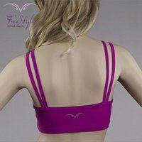 STRIPS TOP FUCHSIA #moda  #fitnessfashion #top #free_style #girl #fashion #sexy #like #fitness #dri-fit