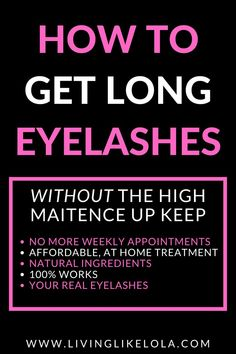 Best eyelash growth serum. Naturally grow your eyelashes back overnight. How to get long thick beautiful eyelashes