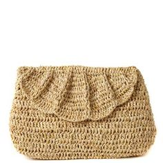 Marcella Clutch Natural now featured on Fab.