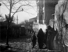 Ano poli-Thessaloniki 1916 Old Greek, Thessaloniki, Macedonia, Nymph, Old Photos, Mythology, Illusions, Istanbul, Greece