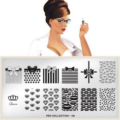 moyou Nail Art design Image Plates-pro collection 08