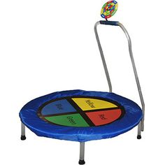 "Bounce-N-Learn Interactive Kids Trampoline by Skywalker, 38"" Round.  For the nephews?"