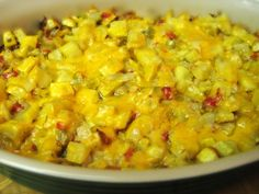 INGREDIENTS: 12 oz. yellow squash 1 oz. chopped red pepper or pimiento 1 oz. chopped green pepper 1 oz. chopped onion 1 egg, beaten (can be...