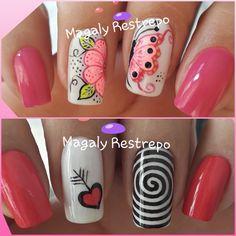 Erika, Nail Designs, Nail Art, Nail Art Designs, Nice Nails, Art Nails, Craft, Amor, Polish Nails