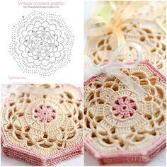 Vintage Crochet Coasters