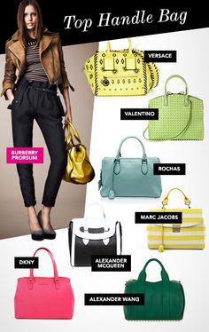 Resort 2013 must-have handbag trends