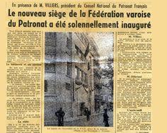 1954 inauguration 24-10 le Provencal