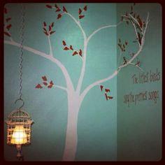 Birdie lamp