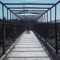 Footbridge over the 5 Fwy in Silver Lake