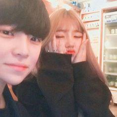 Korean Ulzzang, Ulzzang Boy, Korean Aesthetic, Couple Aesthetic, Cute Korean, Korean Girl, K Pop, Brother And Sis, Tumblr Couples