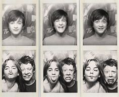 babies, just babies doing Photo Booth