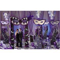 Masquerade room decorations
