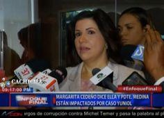 Vicepresidenta Margarita Cedeño Dice Estar Sorprendida Por Asesinato Del Abogado Yuniol Ramirez