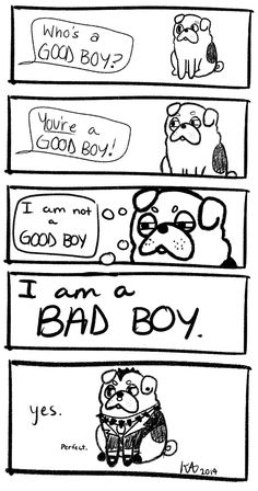 pug comic. yes.
