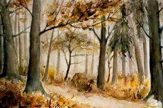 Neu in meiner Galerie bei OhMyPrints: Herbstwald