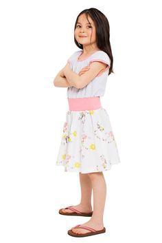 Mädchen Sommer Kleid Gina Girl Dress Phister & Philina | Heldenkind