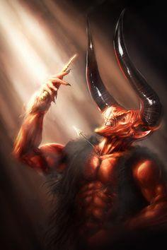 One of my favorite villains! Legend of Darkness by ~rek0
