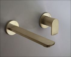 Image result for basin wall mounted brass spout