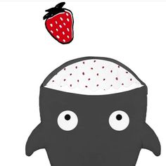 Buenos días!! todo el mundo desayunado?  #nins #ninsmanresa #pictureoftheday #bestoftheday #cotton #madeinbarcelona #newcolours #babybiters #sacosdedormir #instagood #instalike #photooftoday #photo #instagram #grey #sacos #sacosmolones #babybites #strawberry #fish #shark #shoponline #madeinbarcelona #nicepicture #ootd