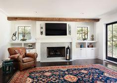 Oakwood Residence   Family Room   Z+ Interiors