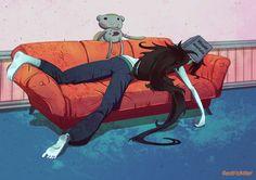 Marceline por DenTrickster en DeviantArt