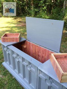 repurposed stereo cabinet - Google Search