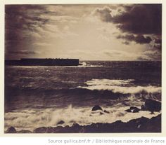 [La Grande vague - Sète - N°17] : [photographie] / [Gustave Le Gray] - 1