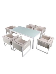 Beau Kiwi Dining Set (7 PC)
