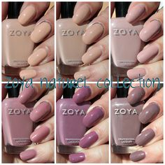 Confessions of a Sarcastic Mom: Zoya Naturel collection swatches+review