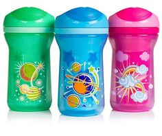 Purple Tommee Tippee Explora Active Sippee Sipper Insulated Cup 12m+ 260ml