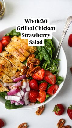 Healthy Meal Prep, Healthy Salad Recipes, Healthy Chicken Recipes, Healthy Breakfast Recipes, Healthy Snacks, Healthy Eating, Dinner Healthy, Healthy Organic Recipes, Clean Eating Lunches