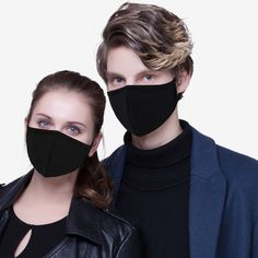 Unisex Mask Adjustable Anti Dust Face Mouth Mask Black Cotton Face Mask For Cycling Camping Travel Drop Shipping Jogging, Walking, Black Singles, Mouth Mask, Material Design, Mesh Material, Diy Mask, Looks Cool, Black Cotton