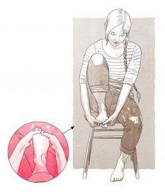 Näillä ohjeilla jumppaat lievät vaivaisenluut kuntoon, estät vaivan pahenemisen ja hoidat jalkaterät vetreiksi. Ota jumppaliikkeet päivittäiseen kä... Anatomy, Yoga, Workout, Healthy, Work Out, Health, Artistic Anatomy, Exercises