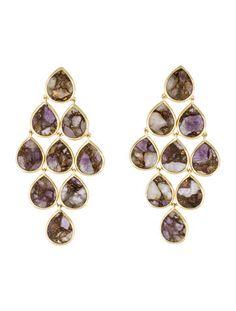 Ippolita 18K Amethyst Cascade Earrings