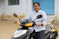 Hemalatha Annamalai is the founder and CEO of Ampere Vehicles Private Limited. She makes electric cycles, scooters and load carriers. Source: Ampere