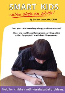 Writing help for kids who are struggling. Her website has lesson plans and tips for reading and spelling struggles too! www.diannecraft.org/