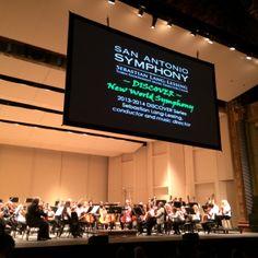"F.T. reviews DISCOVER ""New World"" Symphony   San Antonio Charter Moms"